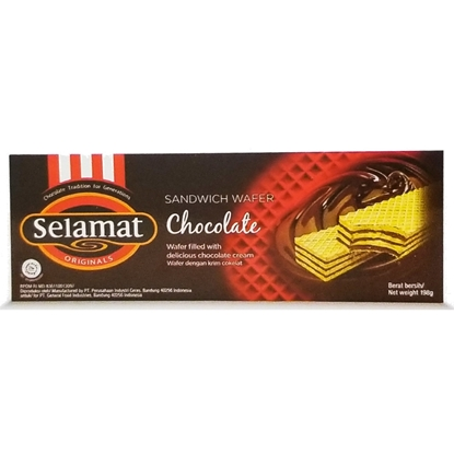 Selamat Biscuit Wafer Chocolate