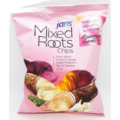 Jans Mix Roots Chips Rosemary Garlic